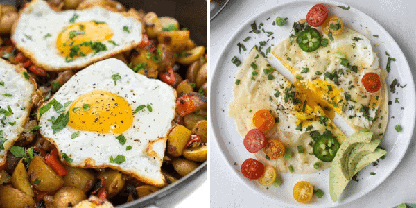 Vegetarian Breakfast Recipes with Eggs