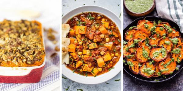 Vegan Recipes with Sweet Potatoes
