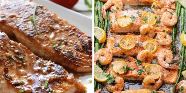 Healthy Baked Salmon Recipes