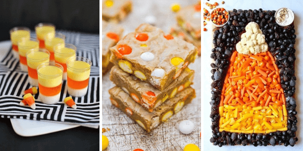 Candy Corn Inspired Recipes