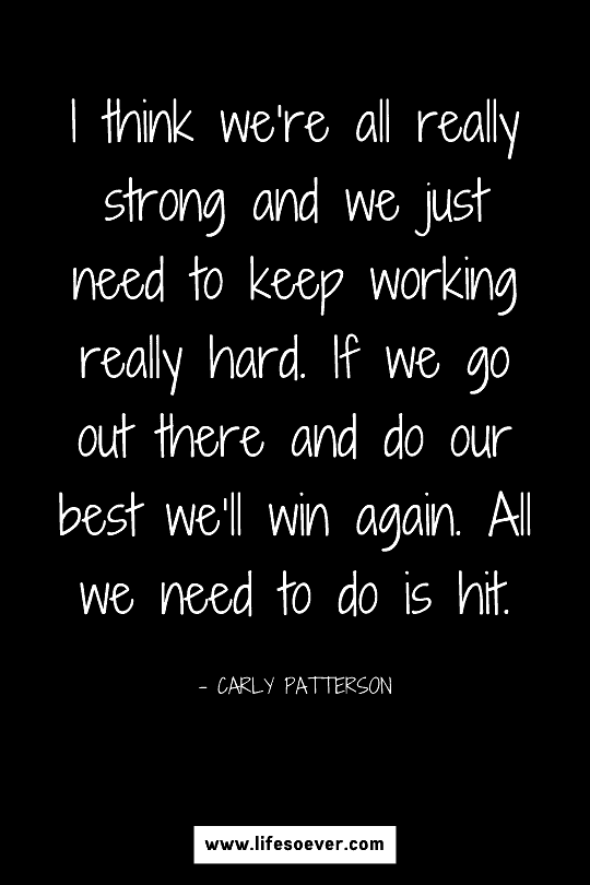 Inspiring quote about developing strength through hard work