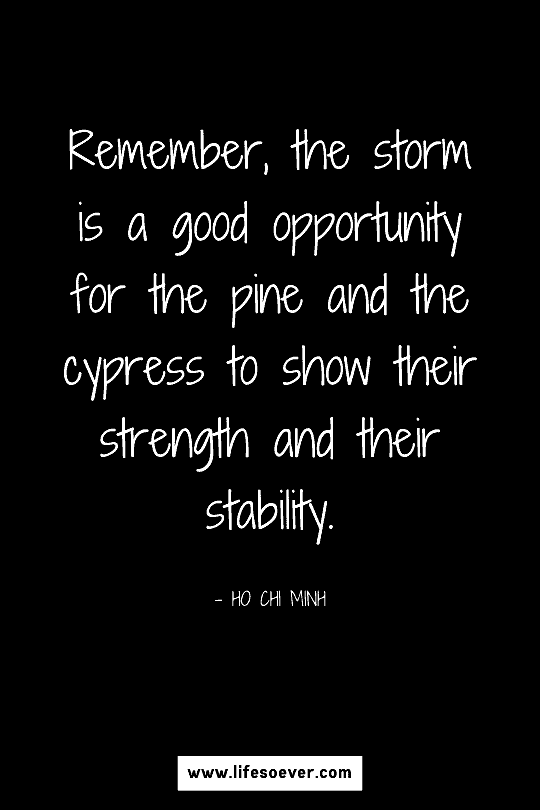 Motivational quote about strength and resilience
