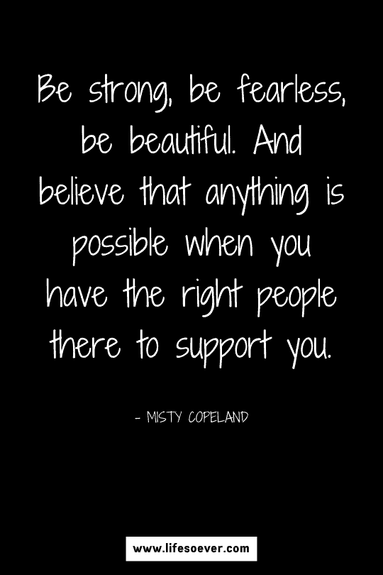 Quote about strength and beauty