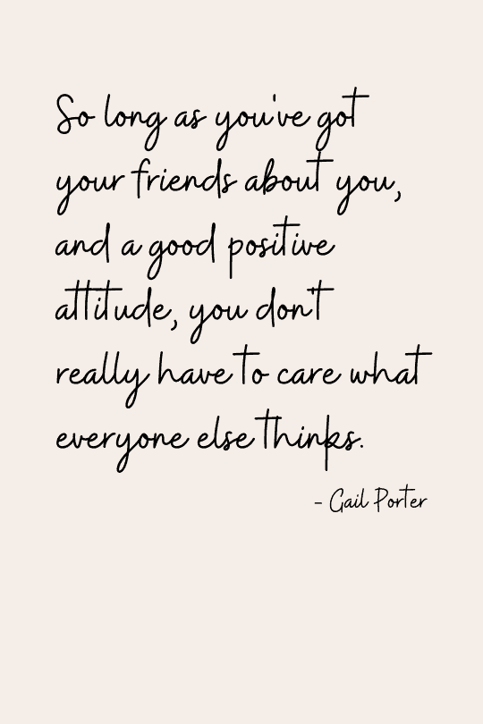Positive quote about life