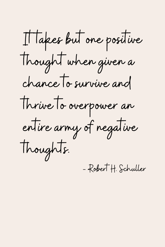 Powerful thoughts
