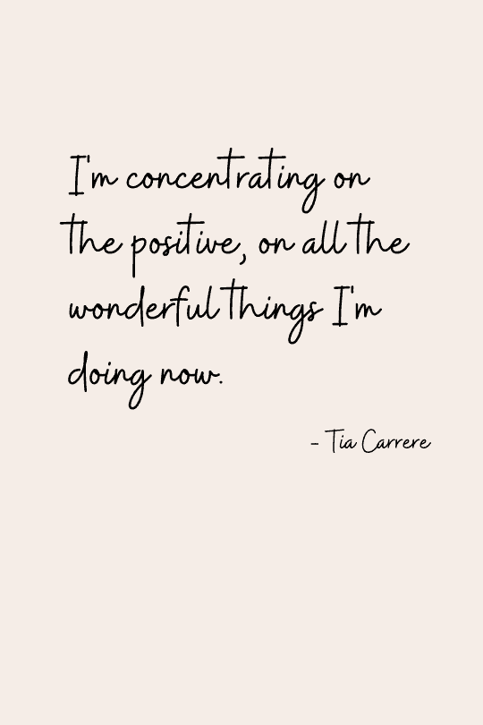 Quote for a positive attitude