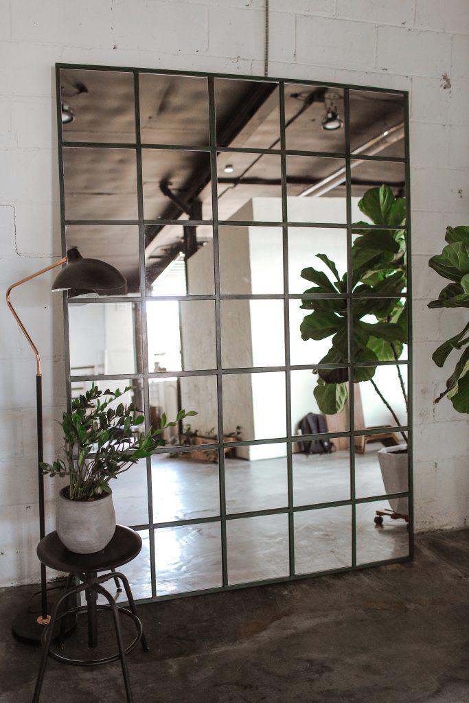 DIY Rectangular Mirror