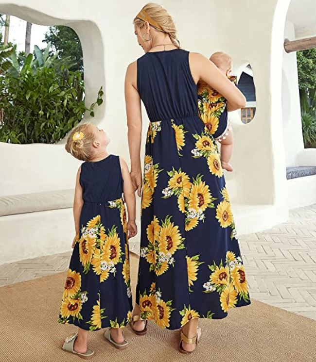 mommy and me dress