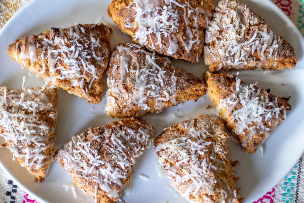 vegan scone