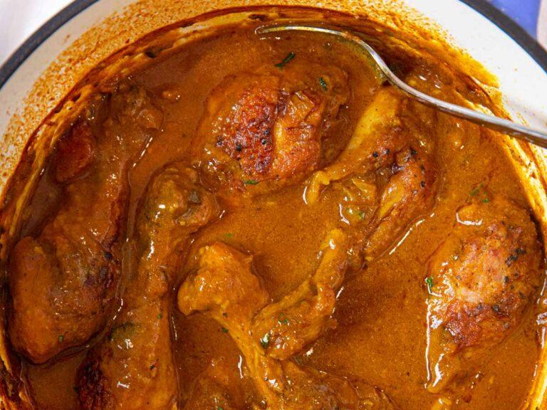 juicy chicken leg